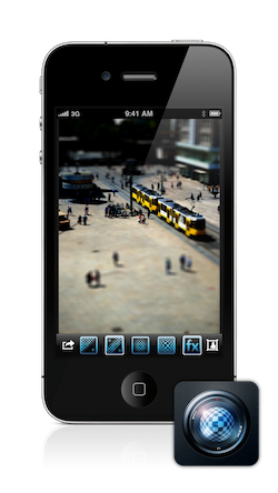 Tilt Shift Focus for iPhone