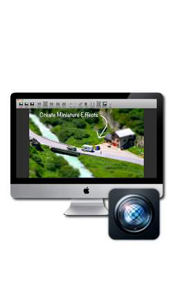Tilt Shift Focus for Mac
